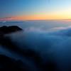 Sunrise over the Haleakala crater, Maui, Hawaii