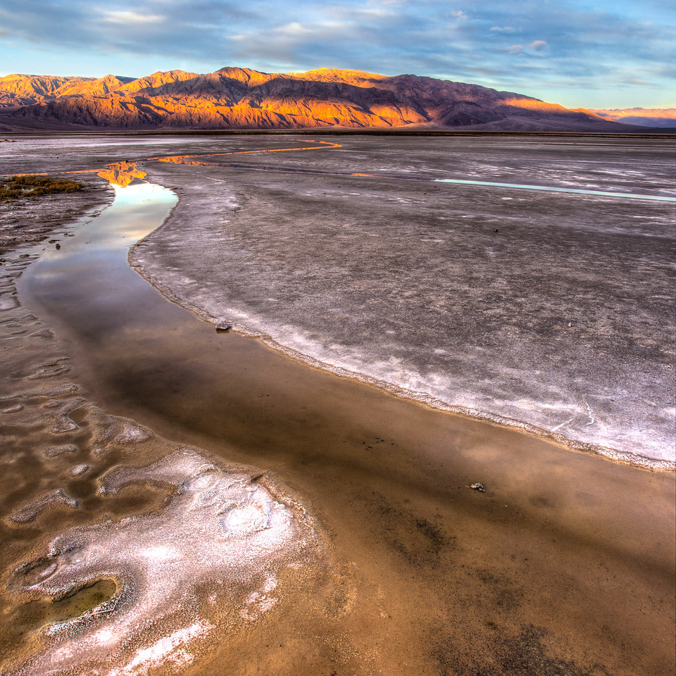 Salt Creek Flats, Death Valley National Park
