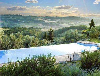 V222 - CHIANTI, ITALY - Charming Renaissance Villa