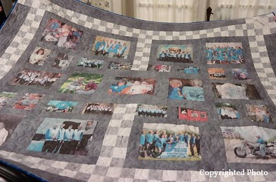 Motor Maids quilt for GG's 25 years in Motor Maids