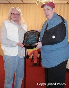 Gail Burkett with Ellen Taylor