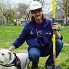 Travis Parsons & service dog