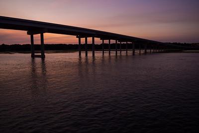 Bridge into Hilton Head Island, SC