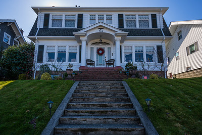 Laura Palmer's home.  Residence in Everett, WA in real life.