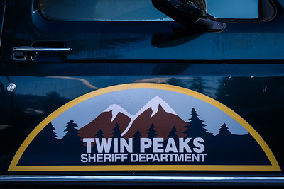Twin Peaks Sheriff department  >  DirtFish rally school in real life.