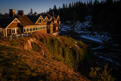 The Great Northern Hotel.  >  Salish Lodge in real life.