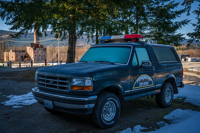 Twin Peaks Sheriff department.  DirtFish rally  school in real life.
