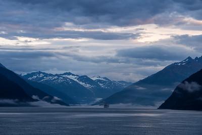 Entering Skagway, Alaska