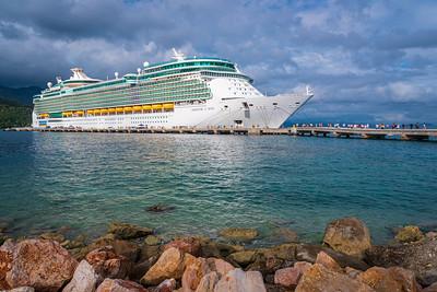 Docked in Haiti