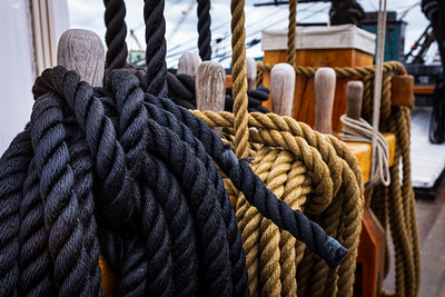Ropes for sailing