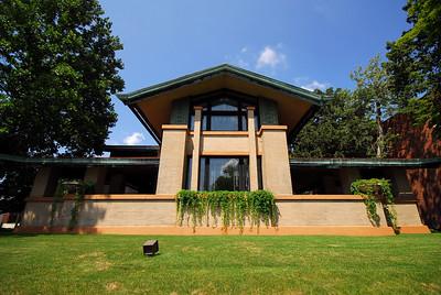 Home built by Frank Lloyd Wright - Dana Thomas House