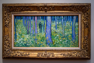 van Gogh - Undergrowth with Two Figures