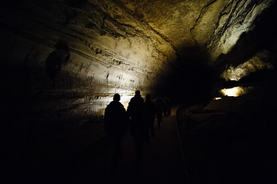 Mammoth Cave National Park in Kentucky.  World Heritage Site and Biosphere Reserve