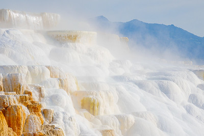 Yellowstone National Park - Wyoming (Canary Spring at Mammoth Hot Springs)