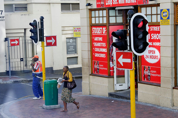 DAY 4:  street scene, Cape Town, South Africa