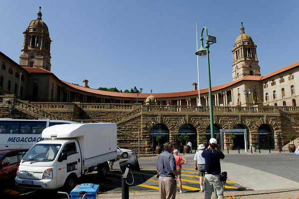 Union Buildings, Pretoria, S. Africa