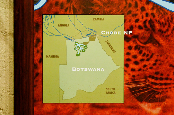 our location in the world, Botswana