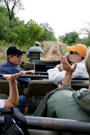 DAY 14: where's the Leopard?, Thornybush, S. Africa, GPS appx