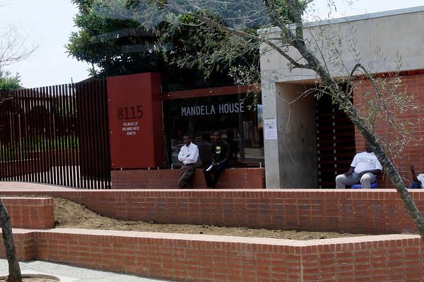 Mandela's former house, Soweto, S. Africa