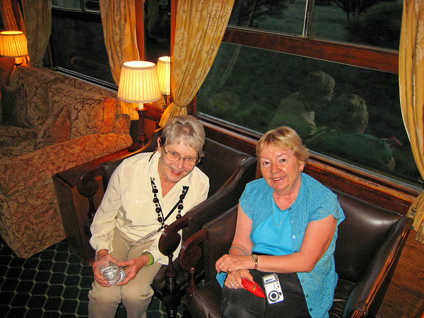Mary and Janice, Rovos Rail, S. Africa