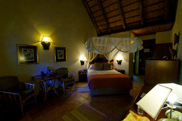 our room at Mowana Chobe, Botswana