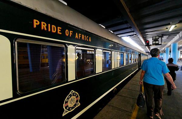 Rovos Rail terminal, Cape Town, S. Africa
