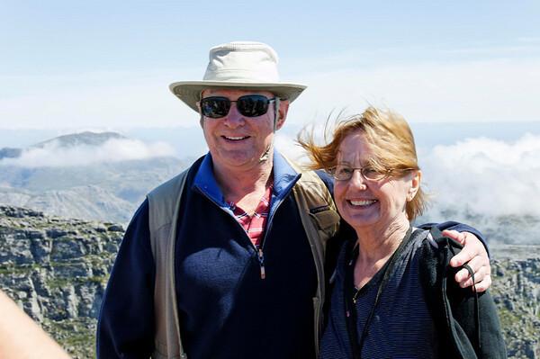 Terry & Faythe, Table Mountain