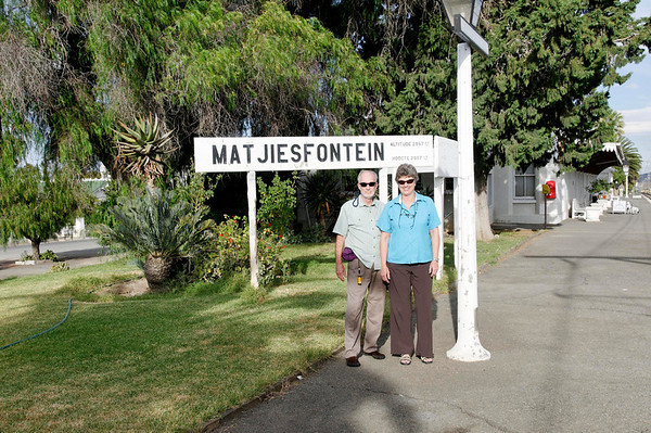 Richard and Suzanne, Matjiesfontein, S. Africa