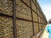 Apartheid Museum fence sculpture, Johannesburg, S. Africa