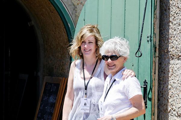Karen and mom Joan, Franschhook, S. Africa