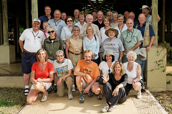 group picture, Thornybush, S. Africa