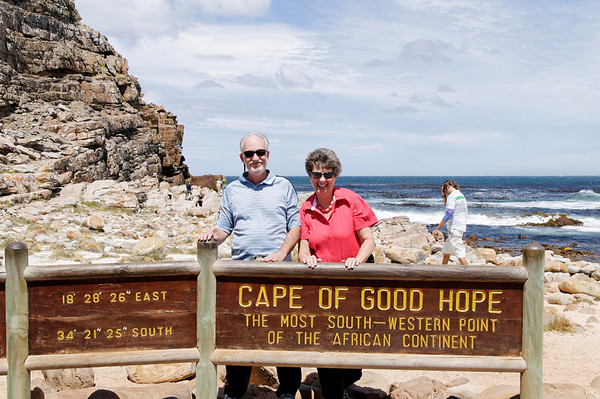 Richard and Suzanne, Cape Point, S. Africa