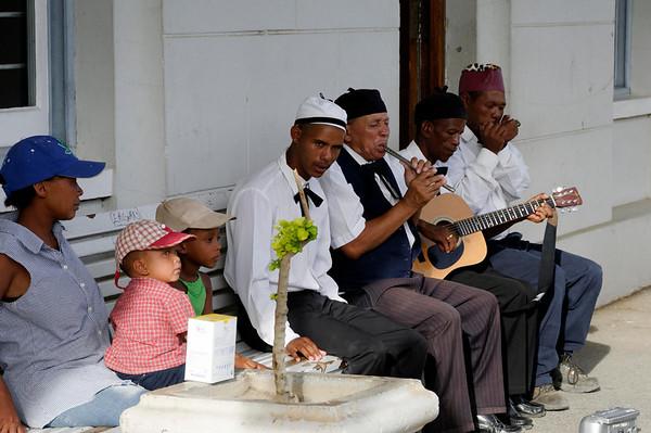 one tune band, Matjiesfontein, S. Africa