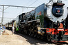 switching to the steam locomotive, Rovos Rail, S. Africa