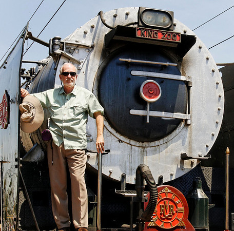 Richard,switching to the steam locomotive, Rovos Rail, S. Africa