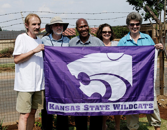 And that K-State thing, Soweto, S. Africa