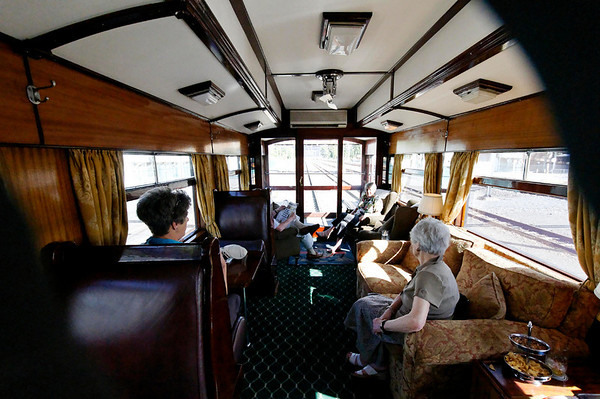 observation car, Rovos Rail