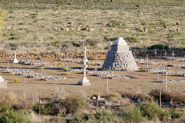 2nd Boer War graveyard, Rovos Rail, S. Africa