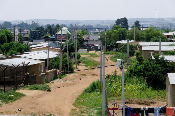 streets, Soweto, S. Africa