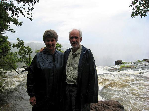 ready to take the plunge, Victoria Falls, Zambia