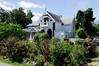 homes along Van Riebeek street, Stellenbosch, S. Africa