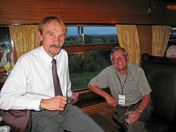 Tom and George, Rovos Rail, S. Africa