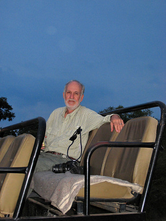 Richard, long day, Thornybush, S. Africa