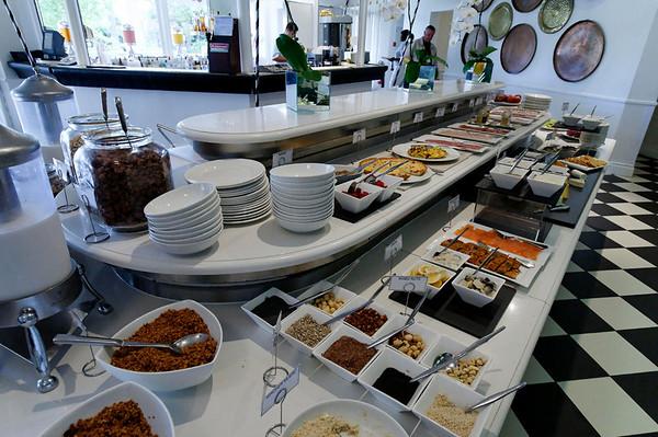 breakfast, Mount Nelson Hotel, Cape Town