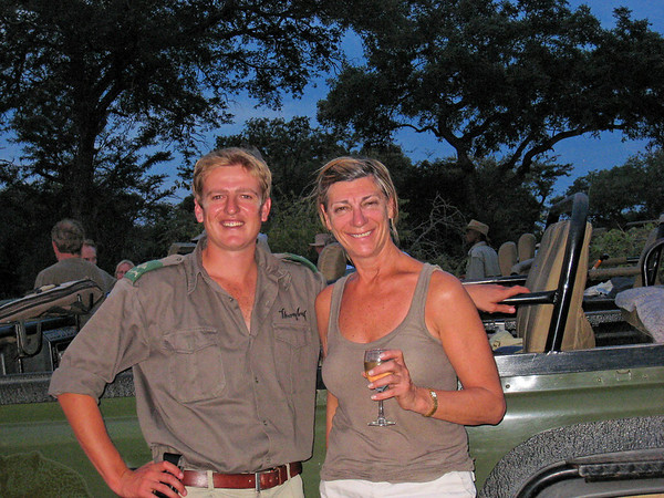 Liam and Cindy, Thornybush, S. Africa