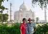Richard and Suzanne, Taj Mahal, Agra