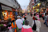 Walking the rest of the way to the Ganges, Varanasi