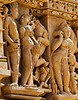 Detail, Eastern group at Khajuraho