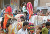 Snip, Snip; Moslem boys (5-6 yrs old) on the way to circumcision rites, Agra