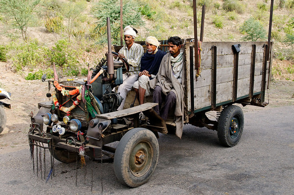 I think they were amused that we found their vehicle so interesting, Kalakho